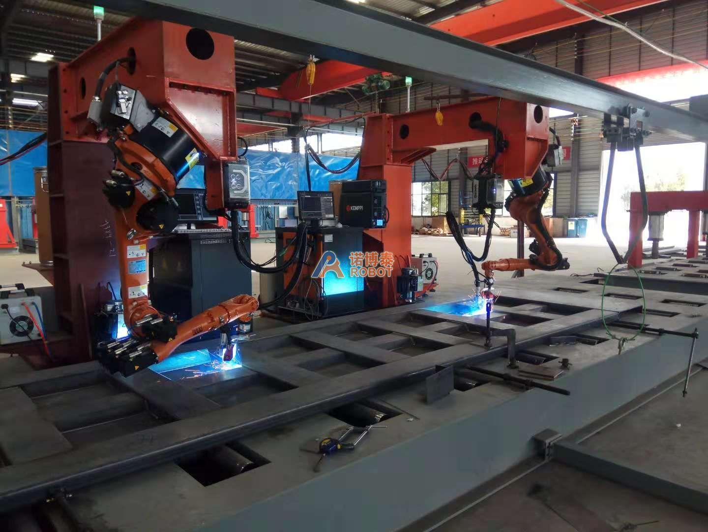 自卸车车厢板焊接机器人